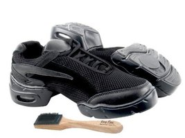 Ladies Women Men Ballroom Dance Sneakers from Very Fine 008 Black (11 (US Wom... - $59.95