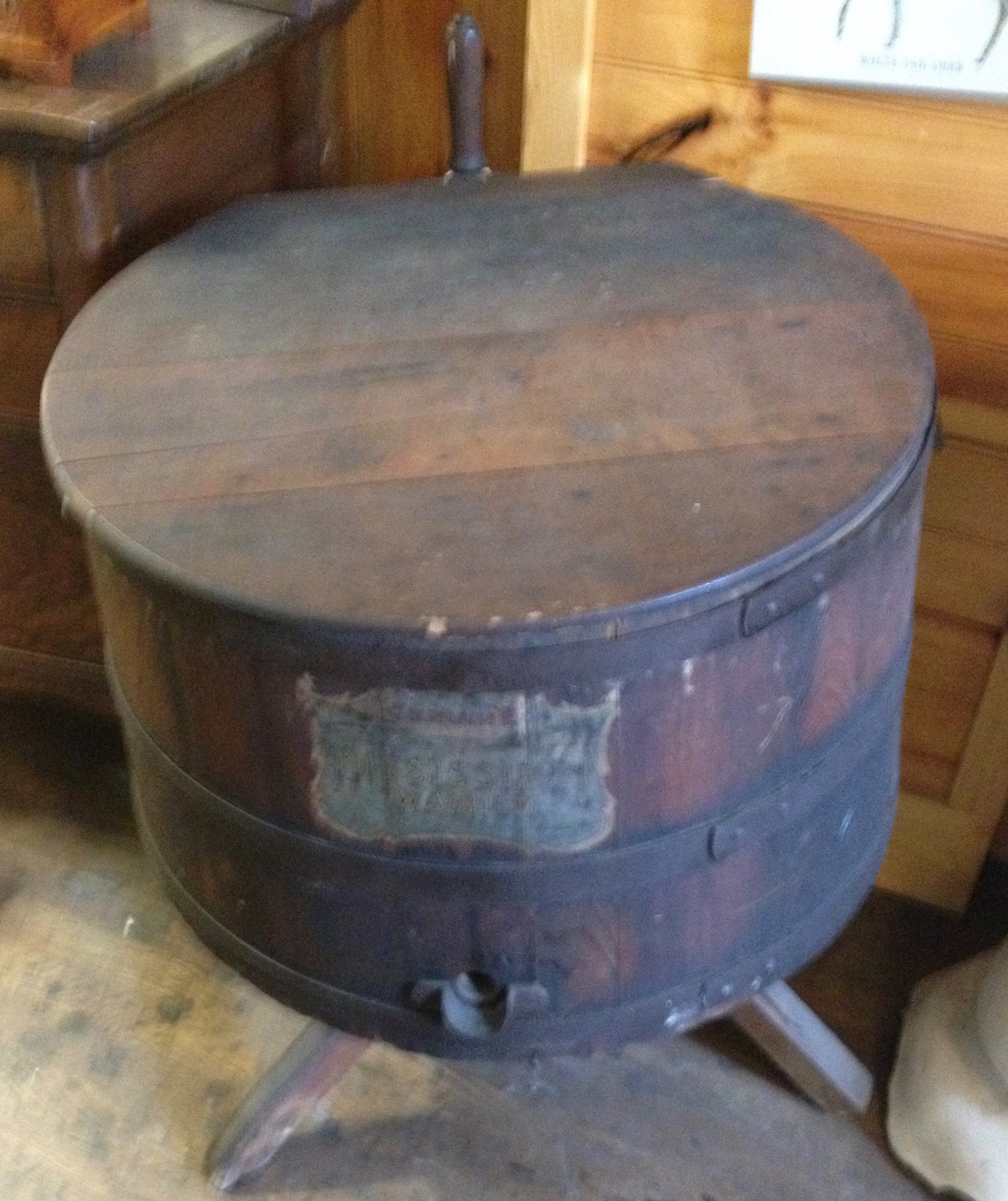 Antique Misissippi Washer Wooden Washing Machine
