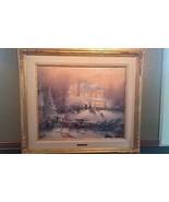 THOMAS KINKADE Victorian Christmas II Studio Proof 22/95 - $8,580.00