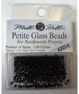 Mill Hill Petite Glass Beads for Needlework Projects 42014 Black - $1.25