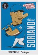 Alfonso Soriano 2012 Panini Triple Play Card #13 - $0.99