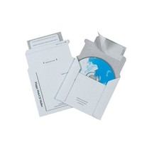 """Foam Lined CD Mailers, 5 1/8""""x5"""", White, 100/Case"" - $108.89"