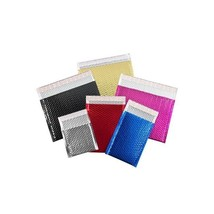 """""""Glamour Bubble Mailers, 7""""""""x6 3/4"""""""", Black, 72/Case"""" - $56.99"""