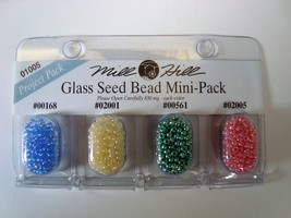 Mill Hill Glass Sead Bead Mini Pack 01005 Project Pack - $1.40