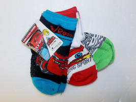 Disney Cars Toddler Boys 3 Pack Socks Size 2-4 Months NWT - $8.72