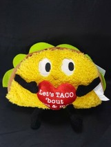 Lets Taco Bout food You And Me Musical Singing Plush Taco Funny Gemmy To... - $19.79