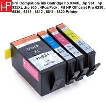 Compatible Ink Cartridge hp 934XL ,hp 934 , hp 935XL ,hp 935 , 4Pcs/Pack - $38.18