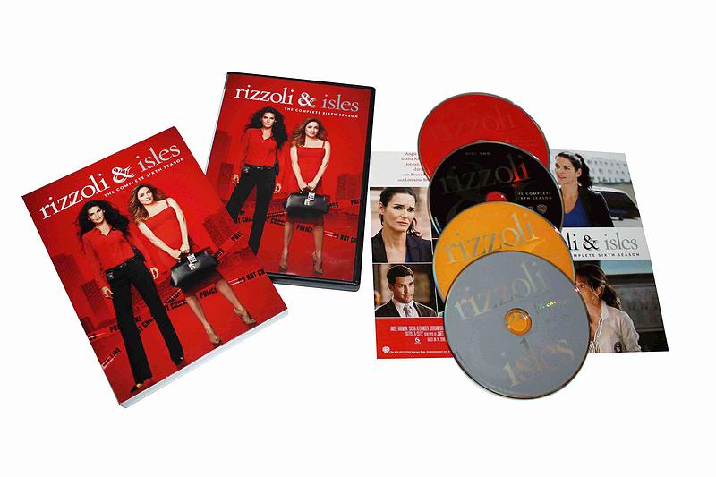 Rizzoli & Isles The Complete Sixth Season 6 DVD Box set 4 Dsic Free Shipping