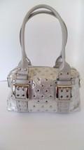 Kathy Van Zeeland Silver Satchel/Handbag, Coin Bag Included - $59.95
