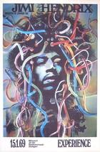 JIMI HENDRIX Germany Concert 1969 8 1/2 x 11  G... - $8.33