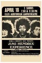 JIMI HENDRIX Concert Ellis Auditorium Memphis 8... - $7.80