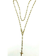 Rosary Guadalupe  Necklace  yellow Gold High pa... - $293.02