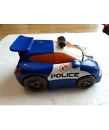 2002 Transformers Playskool Go-Bots Cop-bot Police Car Blue/White Version - $6.99