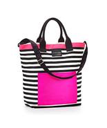 Victoria's Secret Pink Black & White Canvas June 2016 Tote Bag New in Pa... - $27.20