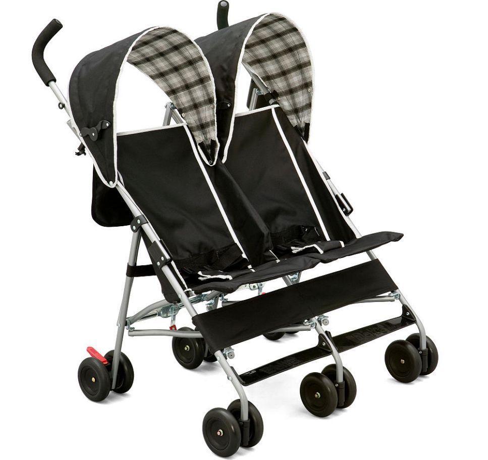 Umbrella Stroller Double Side Twins Kids Toddler Safe