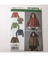 Simplicity 3627 Size 6-14 Misses Jackets - $11.64
