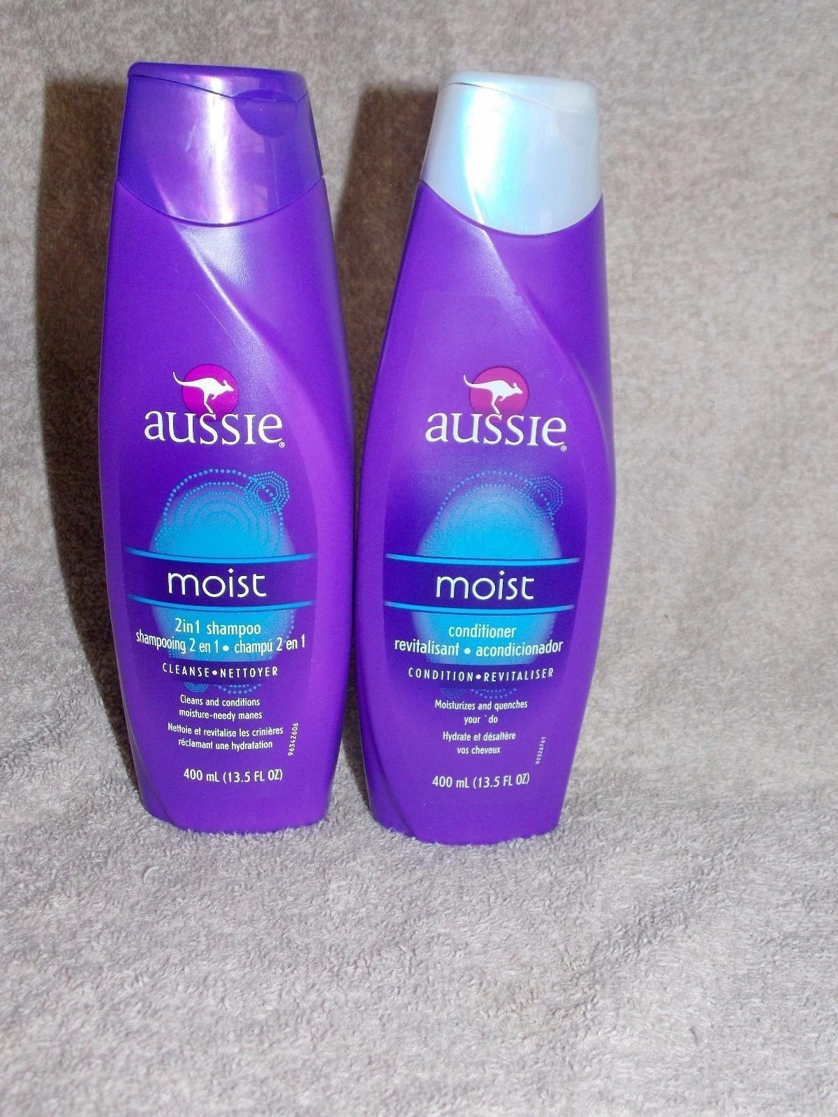 2 Aussie MOIST 2-in-1 Shampoo Cleanse & and 40 similar items. S l1600
