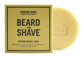 Hudson Made - Beard & Shave Soap (Citron Neroli) (Lot of 3) - $89.10