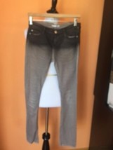 Pre-owned EACH x OTHER slim Gray Distressed Jeans SZ 27 Retail $245 - $54.45