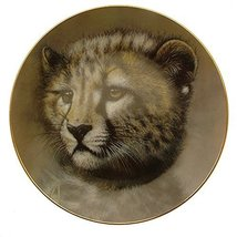Cubs of the Big Cats plate Cheetah cub plate GB55 - $55.25 CAD