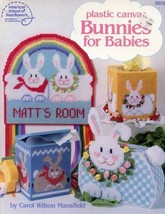 Bunnies for Babies 8 Designs Plastic Canvas PATTERN/Instructions Booklet - $2.67