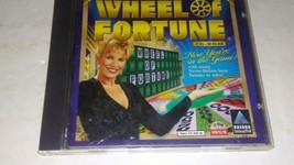 WHEEL OF FORTUNE CD-ROM/PC GAME WIN 95/98, 1998 HASBRO - $28.98
