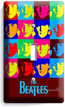 The Beatles Pop Art John George Paul Ringo Single Light Switch Cover Room Decor - $8.09