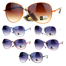 SA106 Womens Designer Metal Luxury Butterfly Aviator Sunglasses - $12.95