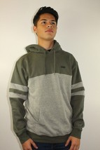 Vans Off The Wall Men's Pullover Hoodie Green/Grey Cotton/Polyester Size... - $46.74