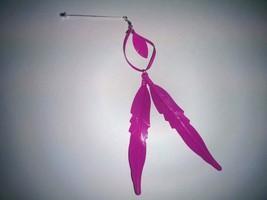 Four (4) Stick dangling Hijab Pins Hat Shawl fashion underscarf wrap brooch - $14.99