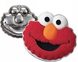 Elmo Cake Pan Party Birthday Wilton Sesame Street - $345,55 MXN