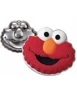 Elmo Cake Pan Party Birthday Wilton Sesame Street - $344,80 MXN