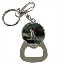 Princess Girl at Sea Fantasy Bottle Opener Keychain and Beer Drink Coast... - $7.71+