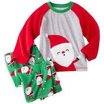 Just One You by Carter's Toddler Boys 2 Pc Pajama Set Santa Sz 2T, 4T or... - $10.39
