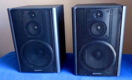 Sony SS-H7 Speakers , 6 Ohms, See video ! - $30.51