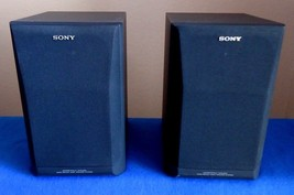 Sony SS-H1600U Speakers , 6 Ohms / 50 Watts Max. , See video ! - $23.03