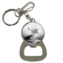 The Wolves Pursuing Sol & Mani Bottle Opener Keychain and Beer Drink Coa... - $7.71+