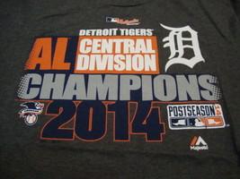 MLB Detroit Tigers Major League Baseball Fan 2014 Champions Soft Gray T Shirt M - $17.17