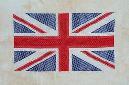 Union Jack flag patriotic cross stitch chart Northern Expressions - $13.50