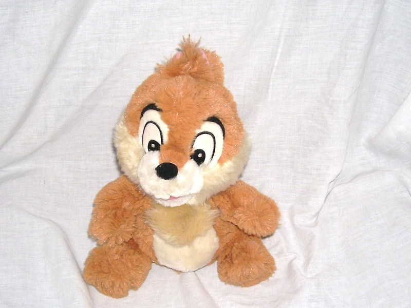 Disney store exclusive rescue rangers chip plush