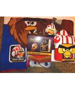 Angry Birds Star Wars Bath Set Rug Shower Curtain Soap pump 2 Towels bat... - $58.19