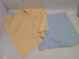 13 Handkerchiefs Lot Colorful Variety Assortment w/ Embroidered or Print Details image 5