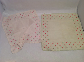13 Handkerchiefs Lot Colorful Variety Assortment w/ Embroidered or Print Details image 6