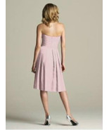 After Six 6574......Strapless, Cocktail length Dress.....Quartz.....Size 16 - $19.99