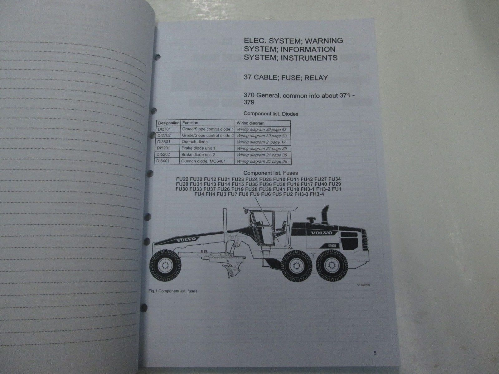 Construction Equipment Volvo Wiring Diagrams Free Download 240 Diagram For Alternator G940 Automotive Including Along With 2015 G903 C G946 G960