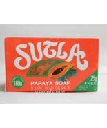 Sutla Papaya Soap Natural Skin Whitening Moisturizer Clarity & Purity 160g. - $8.59