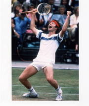 John McEnroe Vintage 8X10 Color Tennis Memorabilia Photo - $6.99