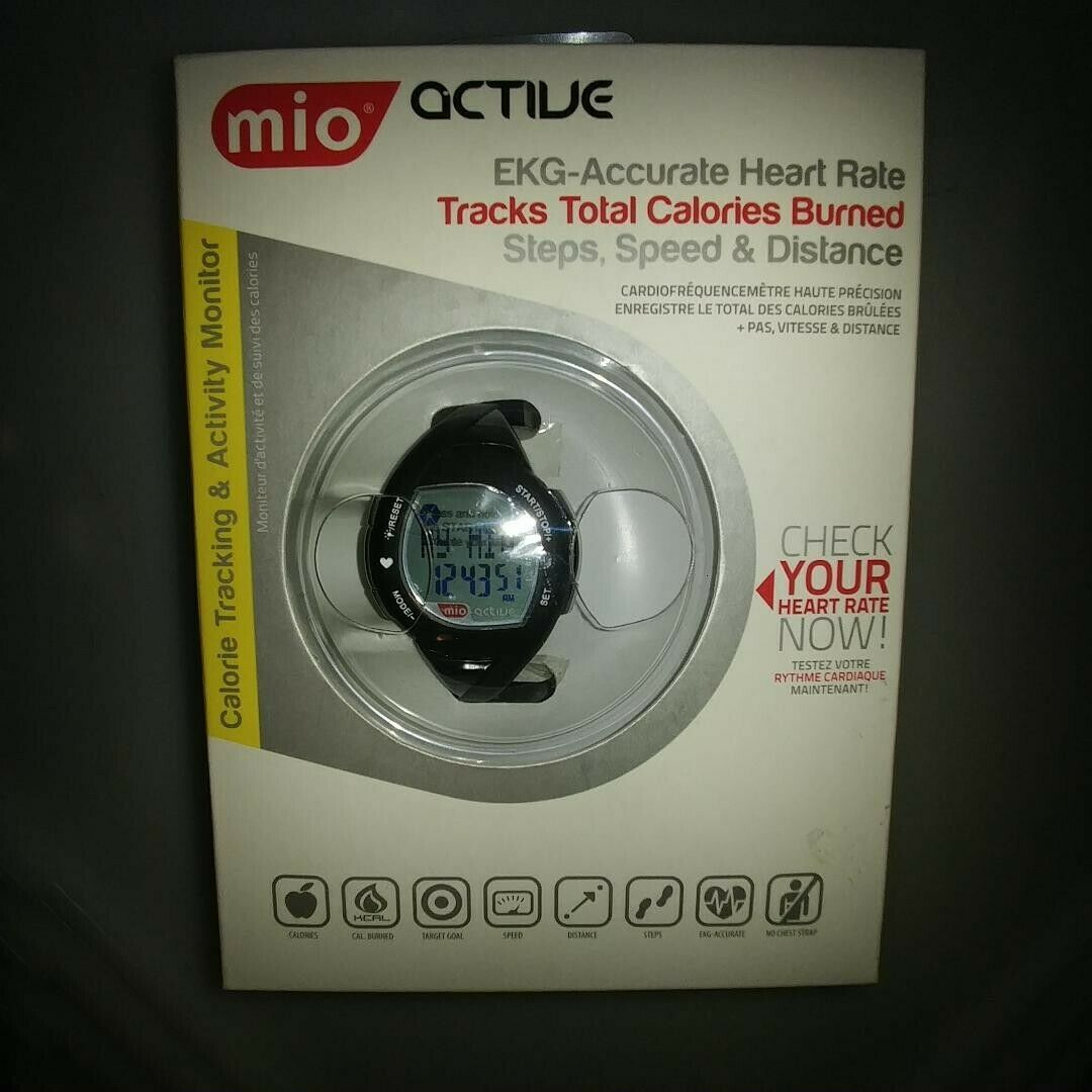 Primary image for Mio active calorie tracking and activity monitor digital watch - new