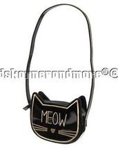 Gymboree City Kitty Black Cat Meow Purse Bag 3 ... - $19.54
