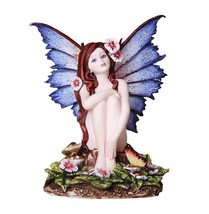 Pink Impatiens Fairy Motherly Love Fantasy Fairy Collectible 4.75 Inches - $27.71